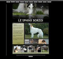 ***  LE SPHINX BORZOI  ***