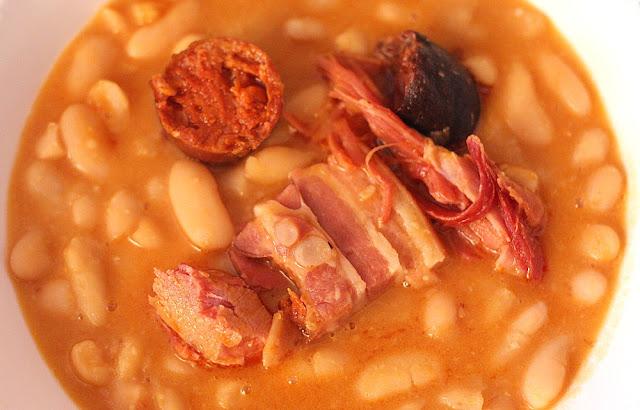 Deliciosa miranda receta de fabada asturiana for Como cocinar fabada asturiana