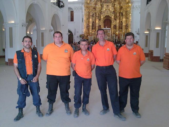 Proteccion Civil de Fuentes en el Rocio 2009