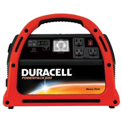 Duracell Car Battery Review >> Portable power generator