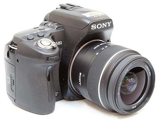 Sony A580 DSLR Camera Product