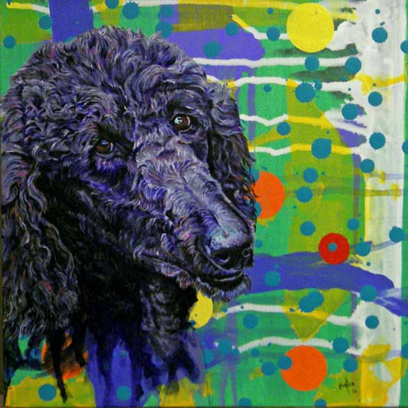 another Dog Painting