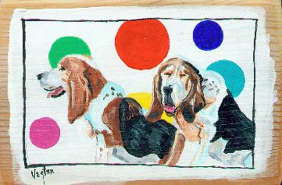 Dog Painting A Day Blog...