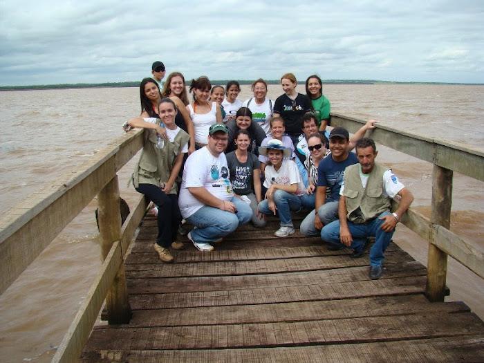 Especialização em biologia vegetal - Estação ecologica de Diamante do Norte.