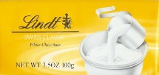 Chocolate Lindt Branco