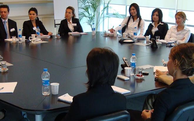 online birebir Daily Business English çalışmasını alan arkadaşlarla organizasyon