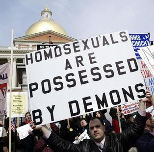 Christian hate gay marriage