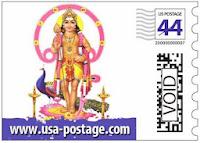 Hindu gods on US stamps அஜித் ரஜினி கமல் விஜய் டிவி கோ
