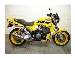 Yamaha 1300 XJR Motorcycle