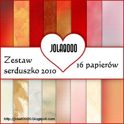 """"""" ZESTAW SERDUSZKO 2010 """"by jola8000 Podgląd"""