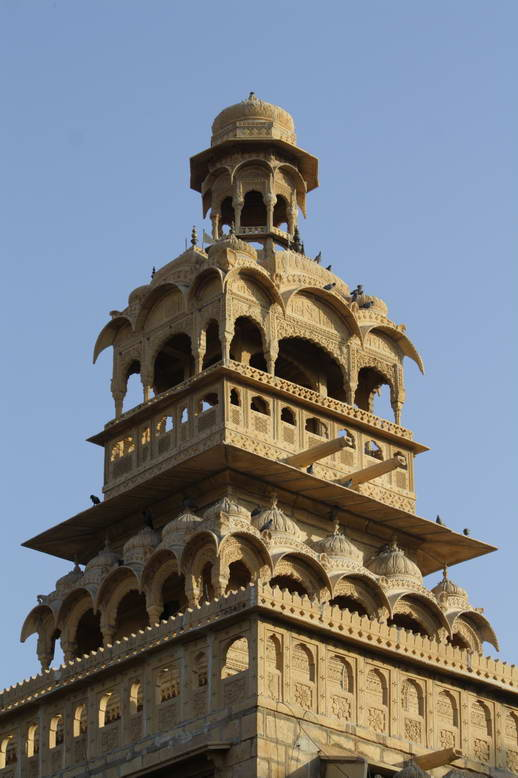 Jaipur City Daily Old Architecture In Jaisalmer Rajasthan India