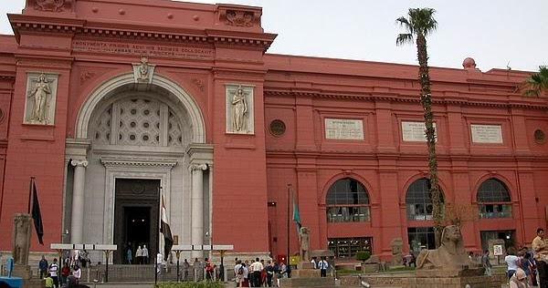 ciber burbuja museo egipcio de el cairo