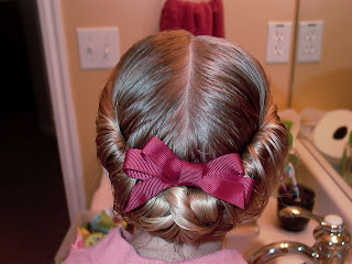 Little Girl's Hairstyles – Side Twists and Wrap