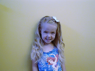 Little Girl's Hairstyles -Double Twist Braids with Waves