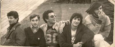 Fabian Gallardo, Ariel Pozzo, Eduardo Carbi, Claudio Cardone, Sergio Rivas