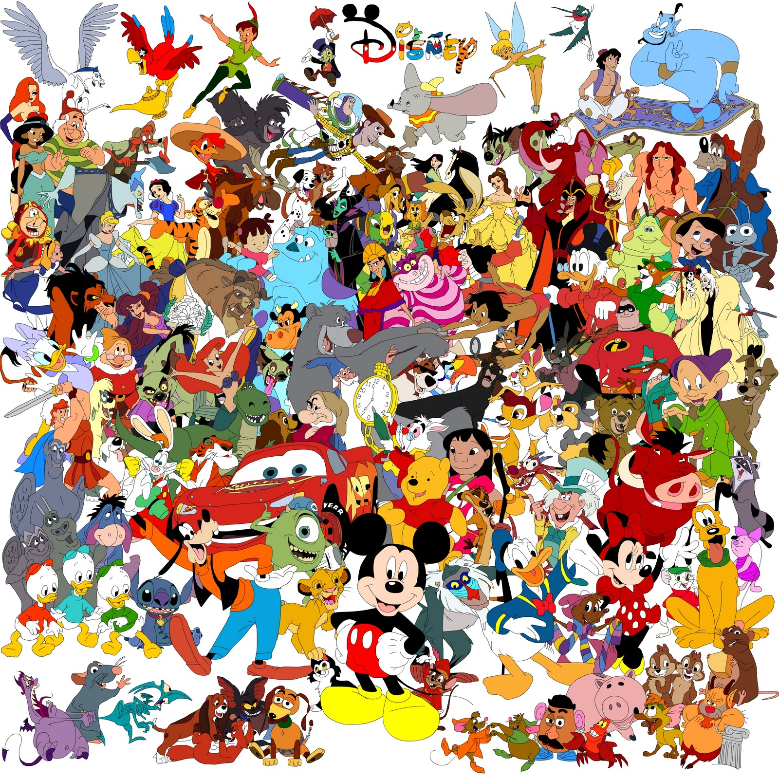Cartoon Characters Kahoot : Disney dibujos animados
