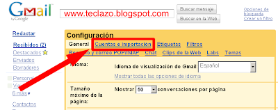 cambiar password gmail cuentas importacion