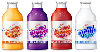 Google Gulp Drink in four flavours