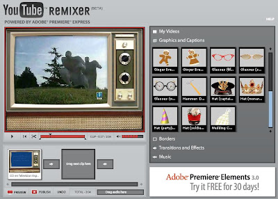 YouTube remixer