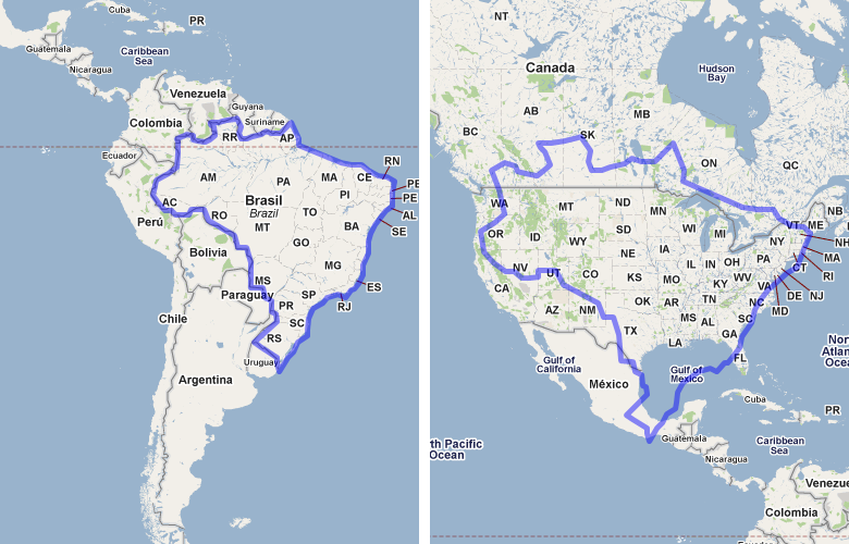 Compare USA vs France visually