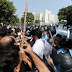 Police baton-charge lawyers in Islamabad, several injured.