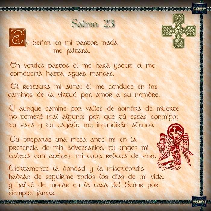 Explicacion Del Salmo 23