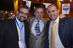 Rafa Bello, José Ramón Fernandez y yo