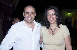 Con mi maravillosa mujer