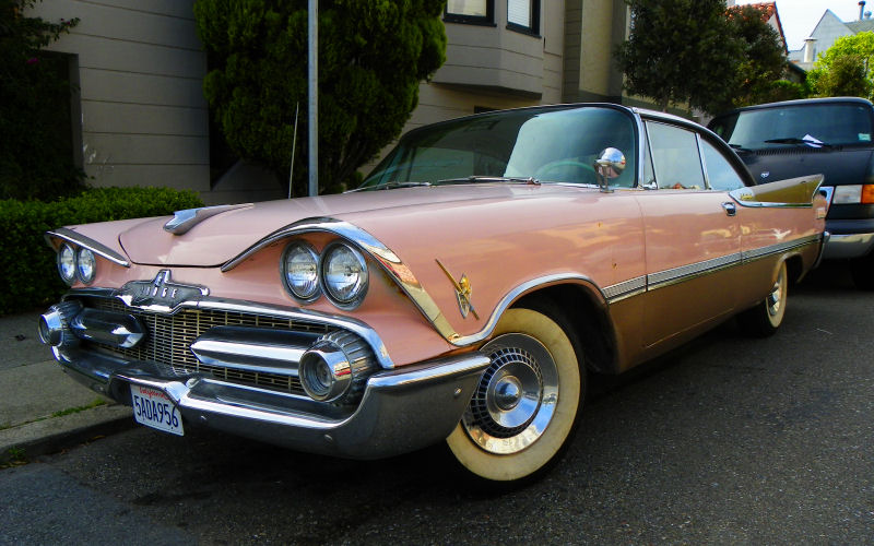 California Streets San Francisco Street Sighting 1959