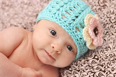 Crocheting A Baby Hat : Baby Crochet and Photo Props : HappyBabyCrochet