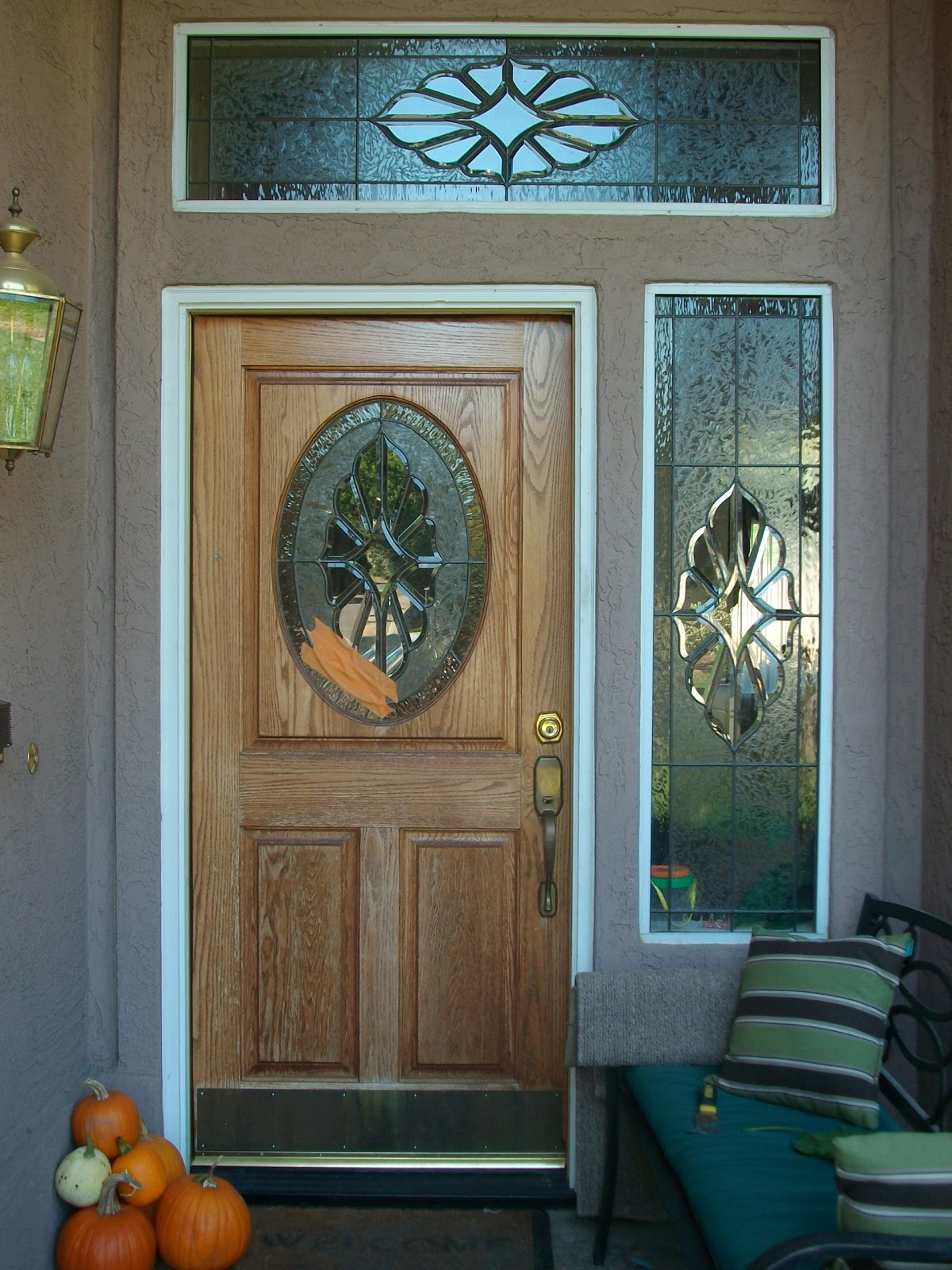 Stained Glass Repair Gallery: Beautiful Stained Glass Front Door