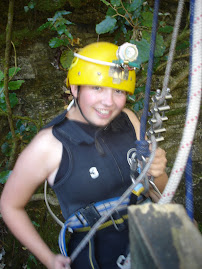 Louise Caving in NZ