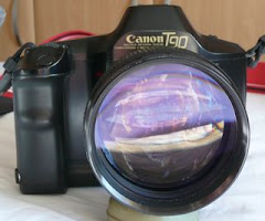 Canon T90 with 85/1.2