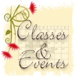 Classes & Events Button