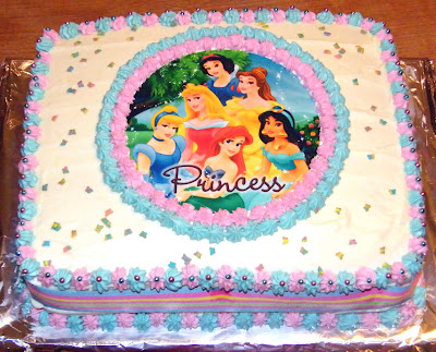 Happy Birthday - Disney Princess 409x338