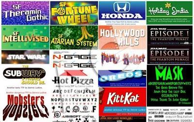 Pack Fonts  Pack das 365 Melhores Fontes Comerciais Baixar grátis Completo