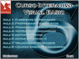 BASIC Curso Interativo Visual Basic: Vdeo Aula programacao downloads cursos cursos e apostilas 
