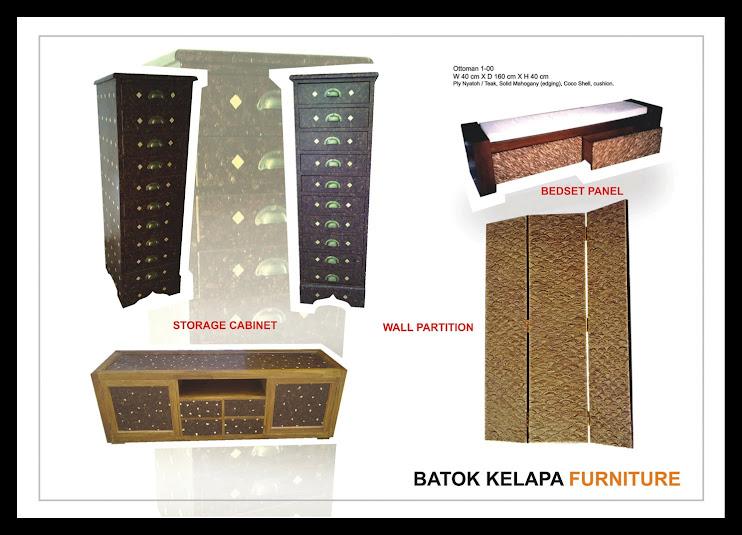 furniture khas batok kelapa dan rotan