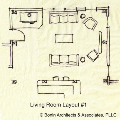 Green Home Design Architect Room Layout Sketches