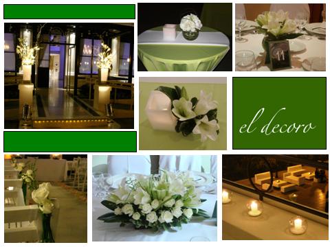 Casamiento - Armonía en verde y blanco