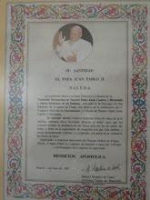 Saludo de Juan Pablo II
