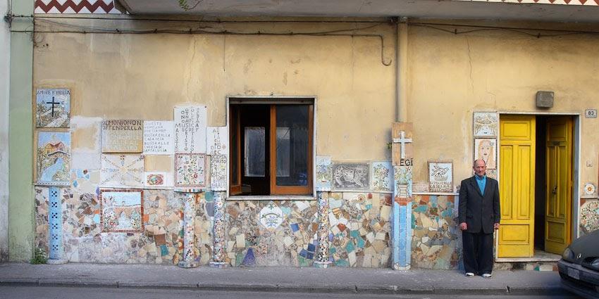 Scritte sui muri il signor luigi morlando - Scritte muri casa ...