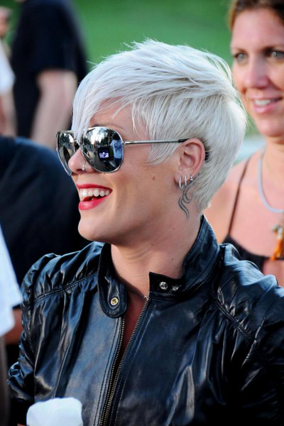 pink hairstyles 2010. Pink Hairstyle