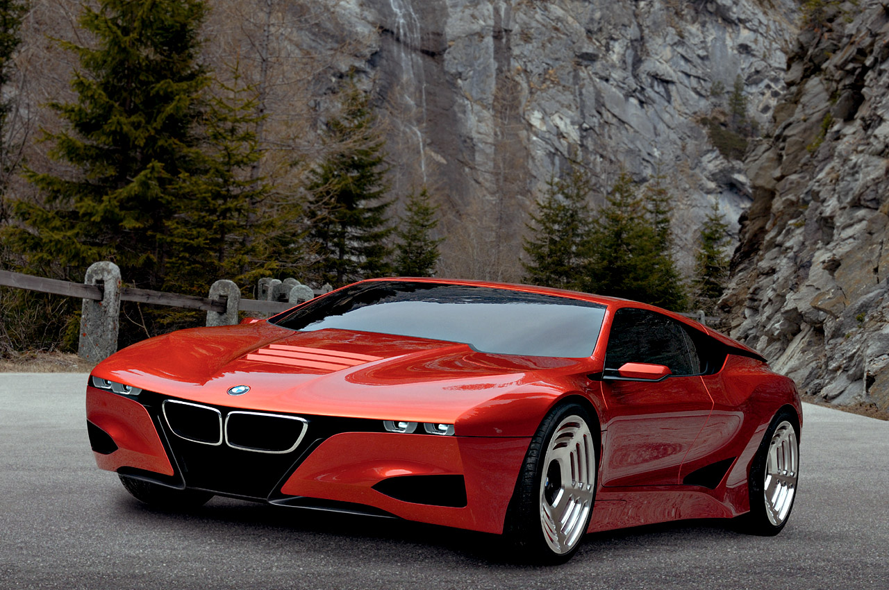 Automotive Auto Concept Car Picture Wallpaper 2012 Bmw M1 Hommage