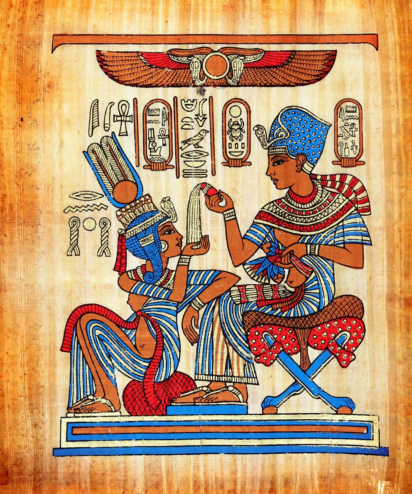 Im genes de la cultura egipcia 5 elementos im genes de for Egyptian wallpaper mural