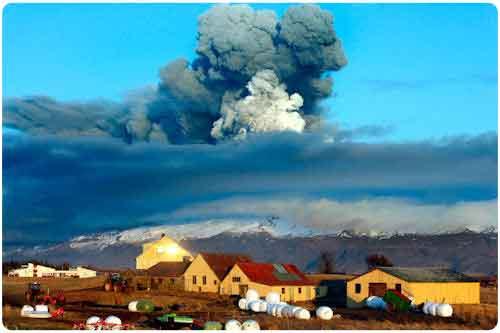 Fotografías del volcán Eyjafjallajokull en Islandia (39 imágenes)