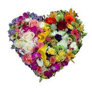 Flores y corazones para el Día de las Madres (26 arreglos) www