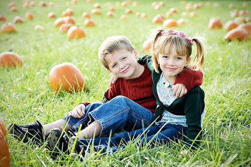 La Infancia, fotos de niños, niñas y su familia