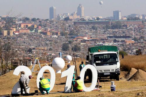 Preparativos para la copa del mundo en Sudáfrica 2010 (38 fotos en total)