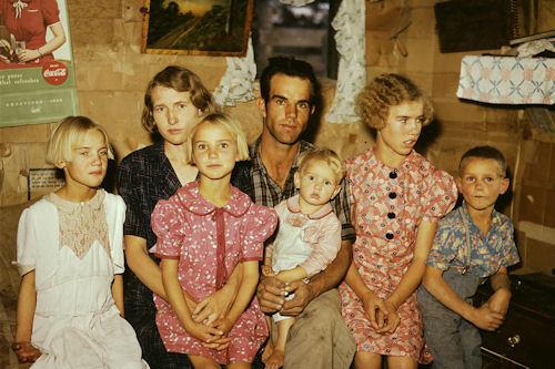 14 fotos inéditas a color de la FSA-OWI 1930-1940